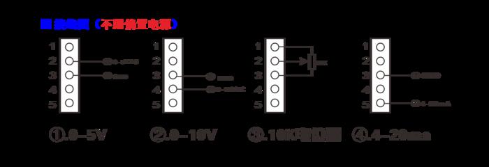 三相固态调压器安装接线图:(单位:mm)           五.